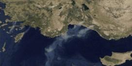 Vanuit de ruimte: zo zien Europese bosbranden eruit door ogen van satelliet