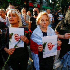 Wit-Russische opposant opgehangen teruggevonden in Oekraïne