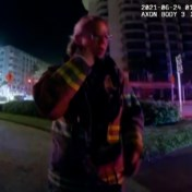 Politie Miami deelt bodycambeelden van eerste momenten na instorting