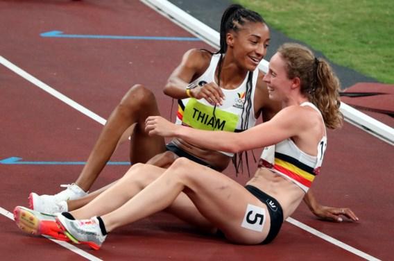 Tweede olympisch goud voor Nafi Thiam, Noor Vidts knap vierde
