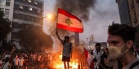 Inwoners Beiroet clashen met politie bij herdenking explosie