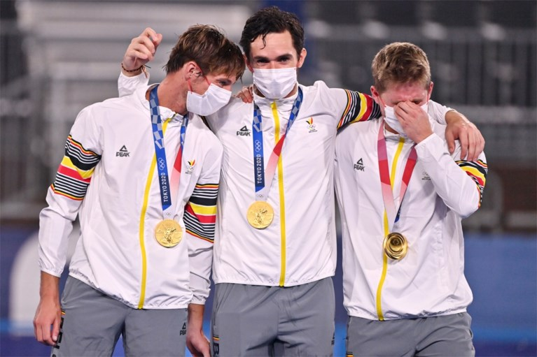 Red Lions olympisch kampioen hockey na spannende shoot-outs