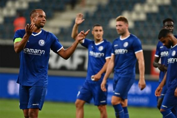AA Gent haalt 0-2 achterstand tegen Rigas in en speelt gelijk