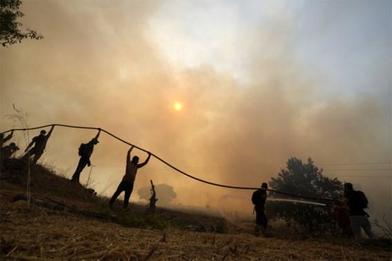 Brandweerman omgekomen bij bosbranden in Griekenland