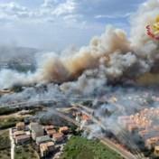 Gebied rond de Middellandse Zee geteisterd door branden