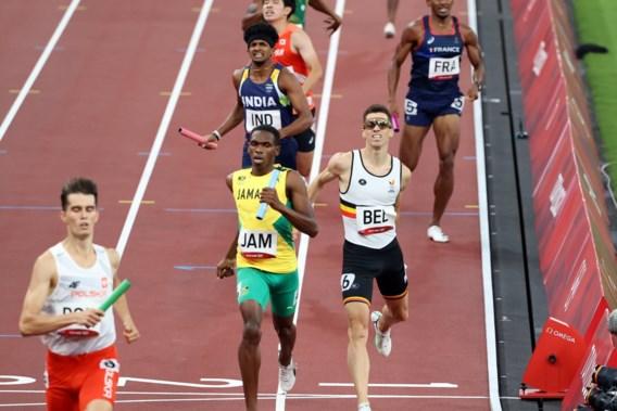 Blessure voor Jonathan Borlée, maar Belgian Tornados naar finale 4x400m: 'Alles opgeofferd voor ploeg'