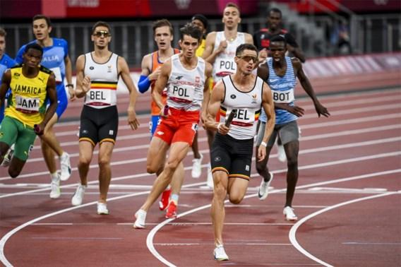 Belgian Tornados vierde op finale 4x400 m in Belgisch record