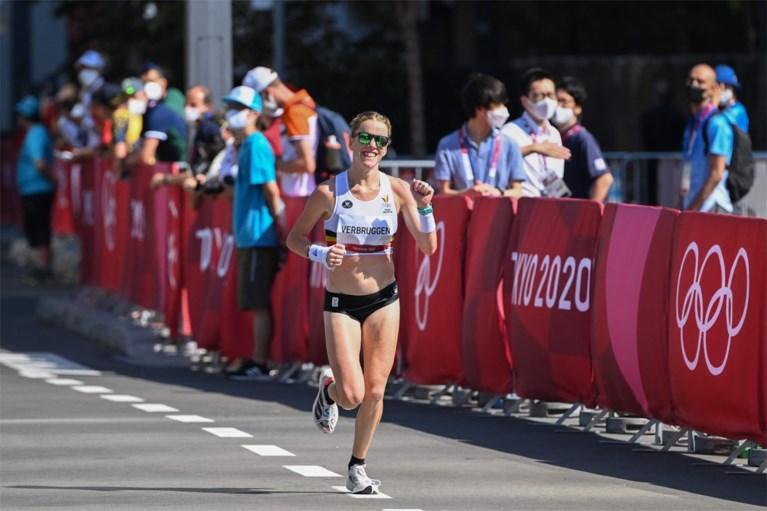 Mieke Gorissen in tranen en vol ongeloof na marathon: 'Dit kan niet'