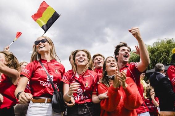Huldiging met dj en open busrit door Brussel: zo worden de Red Lions zaterdag ontvangen