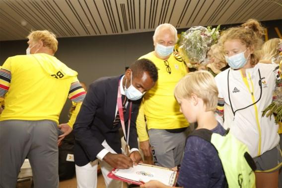 Laatste Belgische atleten zijn terug uit Tokio, bronzen Abdi wil nog beter doen in Parijs