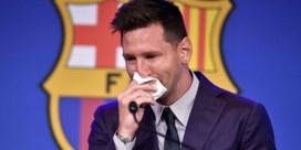 Messi voor het eerst over vertrek bij Barcelona: 'Ik heb nog geen nieuwe club'
