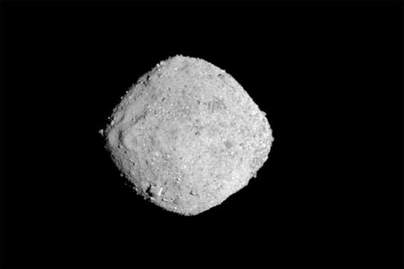 Nasa: 'Kans dat asteroïde Bennu inslaat op aarde vóór 2301 is 0,06 procent'