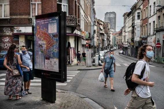 Besmettingen en opnames lopen sneller op in Brussel