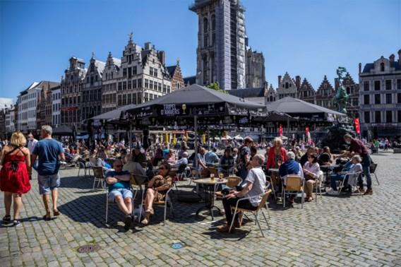 België flirt met code rood op Europese kaart