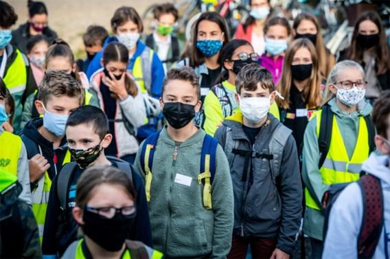 'Zeker in september nog mondmaskers nodig in de klas'