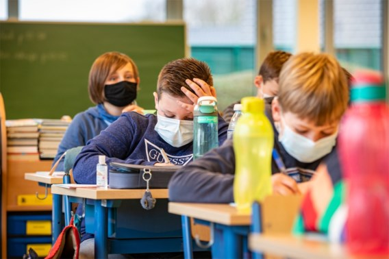 Mondmasker niet langer verplicht in de les