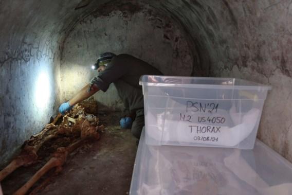 Archeologen vinden in Pompeï resten van uitzonderlijke slaaf