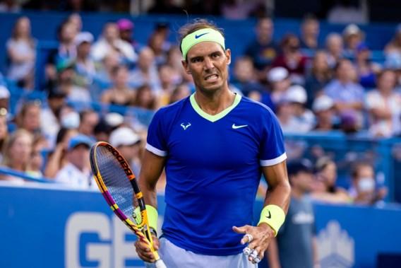 Einde seizoen voor Rafael Nadal: Spaanse tennisser sukkelt met voetblessure