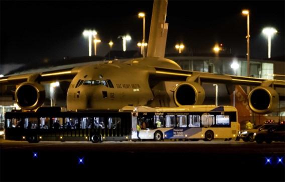 Belgische admiraal: 'Eerste vliegtuig landt normaal late voormiddag'