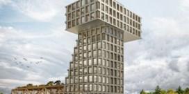 Machiels plant houten toren op site van Ford Genk