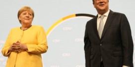 Peiling: Duitse sociaaldemocraten even groot als partij Merkel