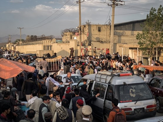 Evacuaties in Afghanistan komen in tijdnood
