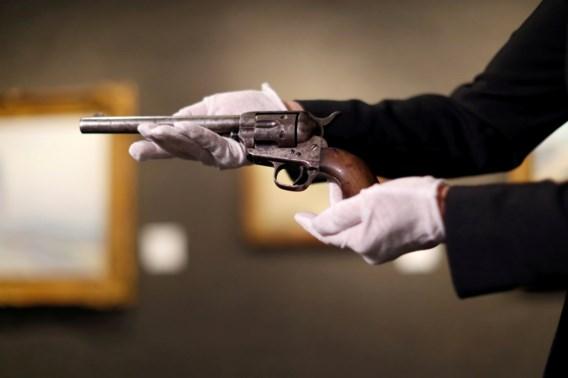 Revolver die Billy the Kid doodde, geveild voor 6 miljoen dollar