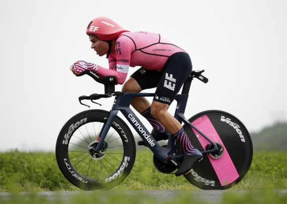 Stefan Bissegger wint tijdrit Benelux Tour en is meteen ook nieuwe leider
