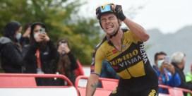 Roglic trekt Vuelta naar zich toe in loodzware bergetappe