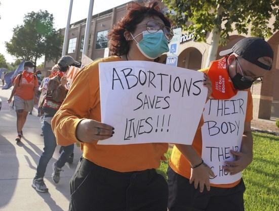 Amerikaans Hooggerechtshof blokkeert abortuswet Texas niet