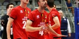 Red Dragons verliezen openingsmatch op EK volleybal