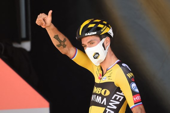 Primoz Roglic grijpt nu wel vluchter Cort Nielsen en snelt naar ritzege in Vuelta
