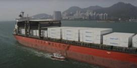 Containervervoer op zee is wanhoop nabij