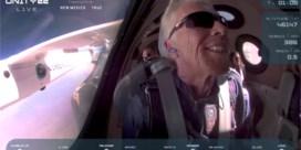Incident ruimtereis Richard Branson houdt Virgin Galactic aan de grond