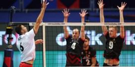 Belgische volleybalmannen verliezen ook tweede wedstrijd op EK