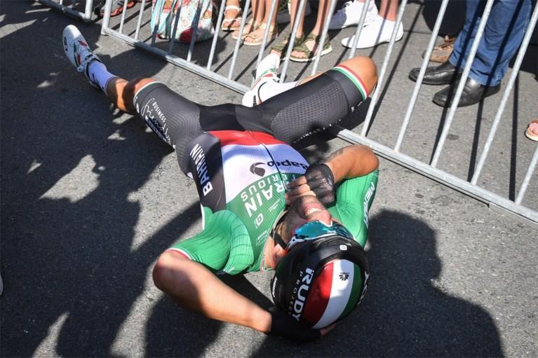 Italiaan Colbrelli wint de koninginnenrit van de Benelux Tour en wordt nieuwe leider