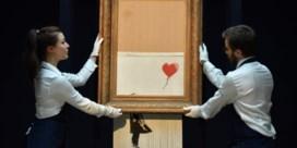 Versnipperde Banksy wordt opnieuw geveild