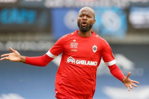 Nu ook officieel: Didier Lamkel Zé komt dit seizoen niet meer in actie voor Antwerp