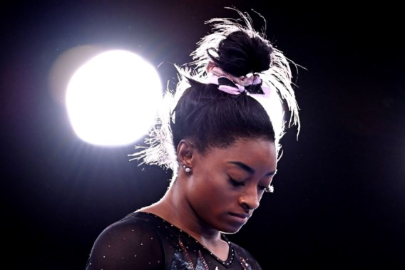 Simone Biles reageert op critici: 'Sommigen noemen mij een opgever, maar ik hoor ze niet over mijn zeven medailles'