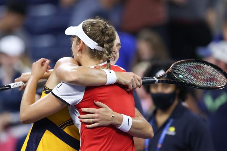 US Open: Elise Mertens niet voorbij Aryna Sabalenka, geen kwartfinale