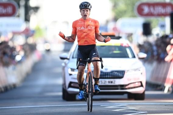 Robin Carpenter pakt naast ritwinst ook de leiderstrui in Ronde van Groot-Brittannië na lange vlucht