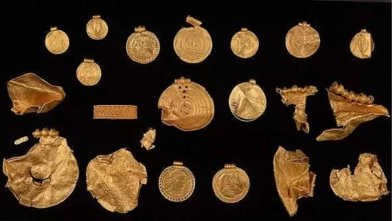 Goudschat, ouder dan de Vikingen, teruggevonden in Denemarken