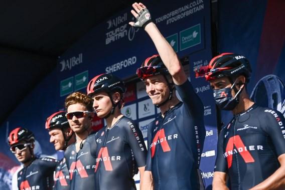 Ineos-Grenadiers snelt naar winst in ploegentijdrit Ronde van Groot-Brittannië, Brit Ethan Hayter nieuwe leider