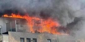 Explosie en zware brand in centrum Blankenberge