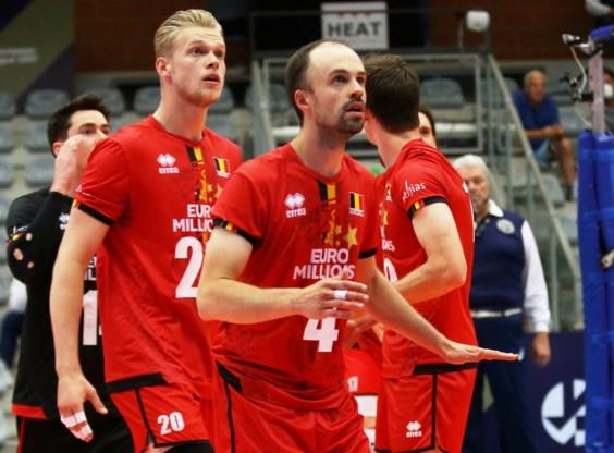 Red Dragons gaan niet door naar achtste finales EK volley