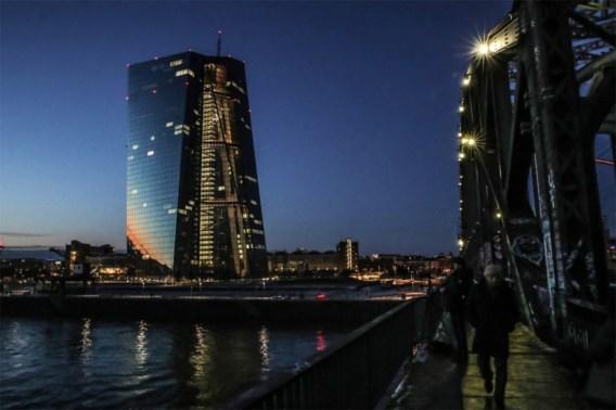 ECB neemt beetje gas terug