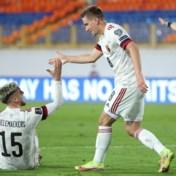 Rode Duivels klaren de klus tegen Wit-Rusland dankzij Dennis Praet