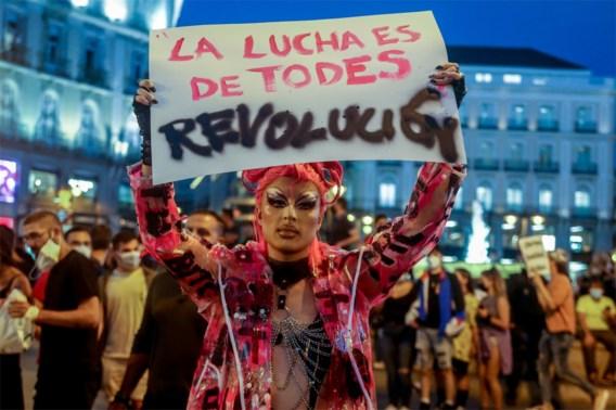 Ondanks valse verklaring over homofobie gaan lgtbti-protesten in Madrid door: <I>'</I>Er zijn echte slachtoffers<I>'</I>