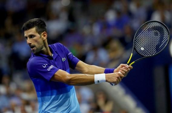 Djokovic door naar halve finale US Open