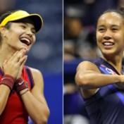 Unieke tienerfinale op US Open: 'Het is magisch'